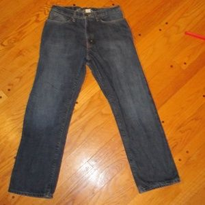 FLANNEL LINED EDDIE BAUER RELAXED FIT JEANS 30X30